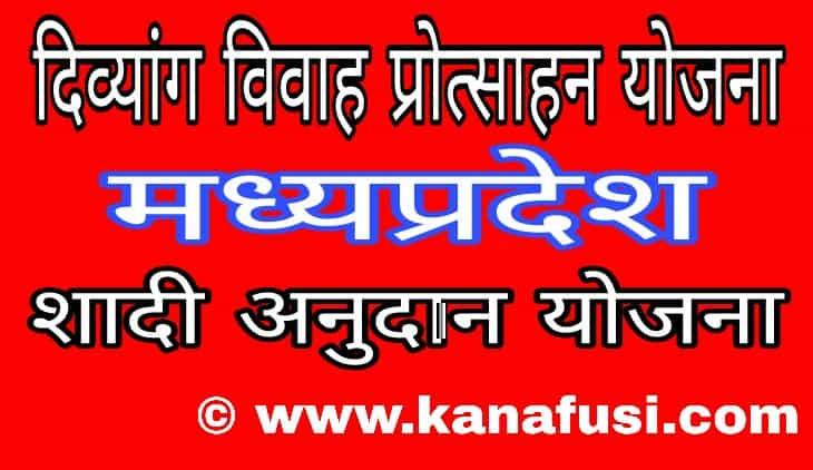 Divyang Vivah Protsahan Yojana Me Avedan Kaise Kare Hindi Me