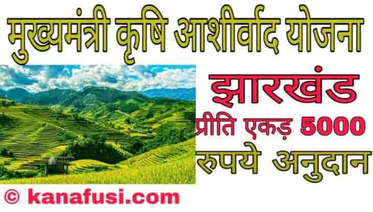 Mukhyamantri Krishi Ashirwad Yojana Me Avedan Kaise Kare Hindi Me