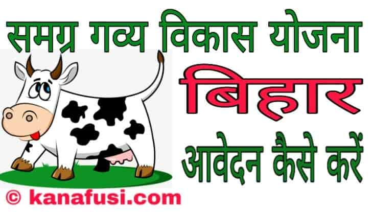 Dudharu Maveshi Yojana Bihar Cow Palan in Hindi