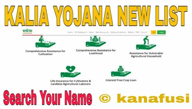 Kalia Yojana Beneficiary List Check Kaise Kare in Hindi