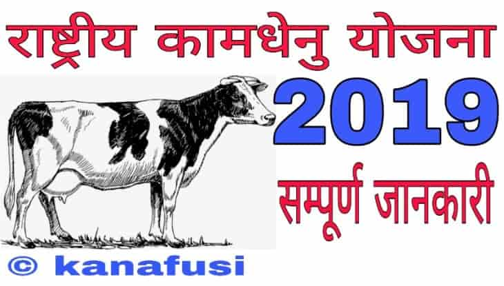 What is Kamdhenu Yojana 2019 in Hindi