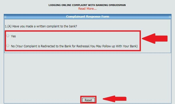 Online Banking Lokpal Complaint Form Kaise Bhare in Hindi