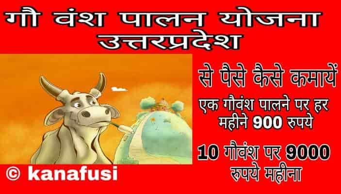What is Gau Vansh Palan Yojana in Hindi