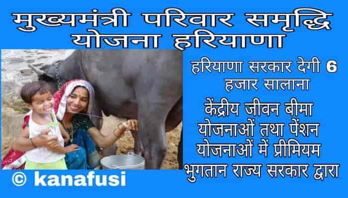 Mukhyamantri Pariwar Samridhi Yojana Haryana Me Apply Kaise Kare
