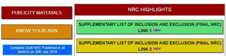 Links for NRC List Click Here