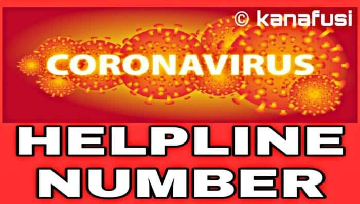 Coronavirus in india helpline numbers for states and uts