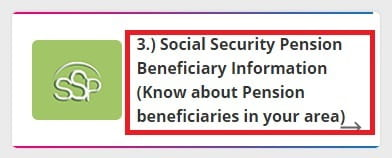 Check Area Wise Pension List