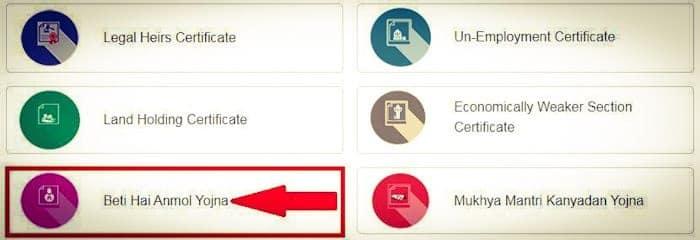 hp Beti Hai Anmol Yojana Online Registration Form